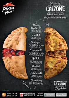 Introducing CALZONE from Pizza Hut!