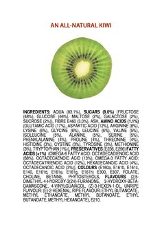 ingredients-of-an-all-natural-kiwi-poster-2.jpg (1240×1753)