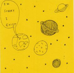 yellow, art, and planet image