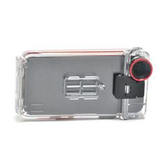 iPhone Case - waterproof, military-grade case is an aquanaut's dream thanks to the case's sealed construction, high-grade scratch resistant lens, and touch screen membrane that allows for in-case usage.