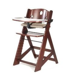 http://www.childrentoystores.com/category/keekaroo/ Non-Toxic Wooden Highchairs for Baby:  Keekaroo Right Height Chair