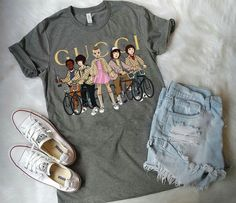 Stranger things have happened, girl outfits, cute outfits, strangers things, tops Stranger Things Have Happened, Stranger Things Funny, Stranger Things Netflix, Stranger Things Merchandise, Trendy Outfits, Cool Outfits, Teen Fashion, Fashion Outfits, Stranger Things Aesthetic