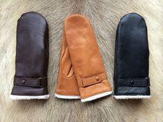 Les gants en cuir des femmes pour l'hiver par leathergloves4u