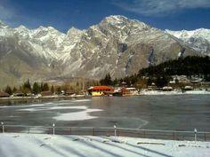 Beautiful view of Shangrilla Lake in winter..!! http://www.gopakistan.no/