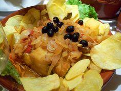 Bacalhau Recipes, Portuguese Recipes, Portuguese Food, Cod Recipes, Cod Fish, Tacos, Easy Meals, Low Carb, Meat