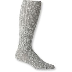 L.L.Bean Women's Cotton Ragg Knee-High Boot Socks ($11) ❤ liked on Polyvore featuring intimates, hosiery, socks, sweat wicking socks, moisture wicking socks, cotton knee high socks, knee length socks and cotton hosiery