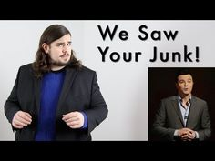 He goes by the name of Kevin Gisi - and he's come up with a lovely riposte to Seth MacFarlane's song, called 'We Saw Your Junk'. In it, he namechecks the likes of Bruce Willis, Harvey Keitel and Jason Segal in his list of male actors who have shown us... their little male actors.