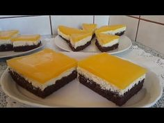RETETA - PRAJITURA FANTA - YouTube Vanilla Sugar, Cocoa, Cheesecake, Pudding, Sweets, Make It Yourself, Baking, Desserts, Facebook