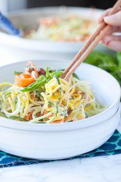 Tangled Thai Salad | Danielle Walker's Against all Grain | #paleo #glutenfree #grainfree #dairyfree