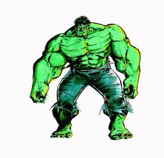 desenhando: desenhando hulk