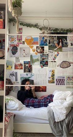 Room Ideas Bedroom, Bedroom Decor, Cute Room Ideas, Indie Room, Room Goals, Aesthetic Room Decor, Cozy Room, Dream Rooms, My New Room