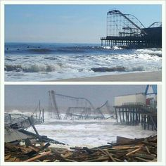 25 Shocking Before & After Photos Of Hurricane Sandy's Destruction