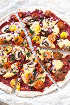 3 Ingredient Gluten Free Pizza Crust Buckwheat Gluten Free, Gluten Free Vegan Pizza, Pizza Sin Gluten, Vegan Pizza Crusts, Buckwheat Recipes, Gluten Free Recipes, Crust Pizza, Crust Recipe, Dough Recipe