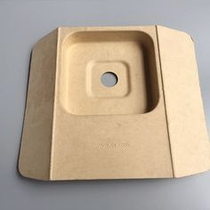 Molded Bamboo pulp tray for Xiaomi TV Box  Email:ritachen@pulppaperpack.com