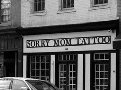 sorry mom tattoo