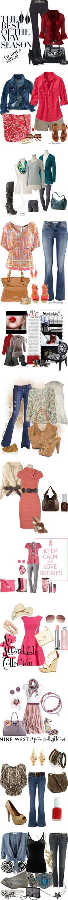 """""""Affordable classic looks"""" by prncsskimb ❤ liked on Polyvore"""