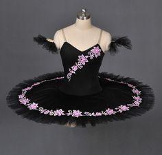 Professional Classical Ballet Tutu Black Swan Dance Costume | eBay