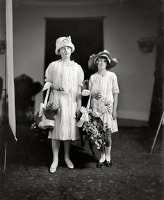 Eleanor Wilson's Flower Girls in 1914