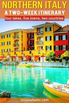 A Northern Italy itinerary that includes four lakes, five towns and spreads across two countries: Italy and Switzerland. Find out how to plan your Northern Italy trip, where to sleep and how to get from one place to the next. Italy Vacation, Italy Trip, Italy Travel Tips, Budget Travel, Travel Europe, Travel Hacks, Travel Packing, Travel Advice, Things To Do In Italy