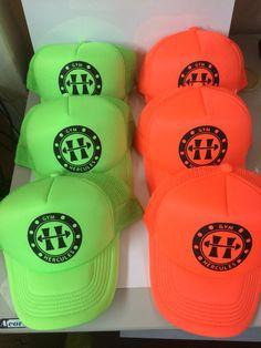 Personalizado de gorras para GYM HÉRCULES en Genety gym #genetyGym