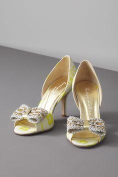 Brocade DOrsay Heels from BHLDN.