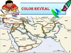 Students will answer a series of questions related to the geography and environment of the Middle East in order to correctly color their map. The Clues/Questions instruct students to correctly identify a Middle Eastern country, answer the question and then label and color it accordingly.