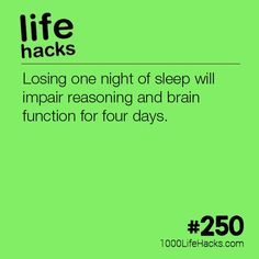 What Losing One Night of Sleep Does To Your Brain Life Hacks) The post – What Losing One Night of Sleep Does To Your Brain appeared first on 1000 Life Hacks.The post – What Losing One Night of Sleep Does To Your Brain appeared first on 1000 Life Hacks. Simple Life Hacks, Useful Life Hacks, Hack My Life, Life Skills, Life Lessons, Health Tips, Health Care, Mental Health, 1000 Lifehacks
