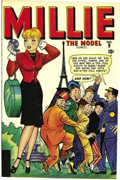 Millie the Model #9 Marvel 1947