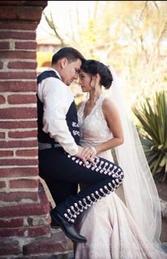 Mexican Groom And Bride.