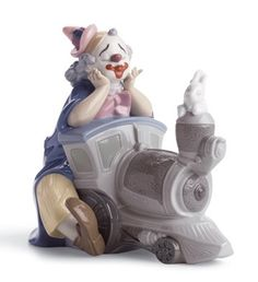 Lladro Figurines | lladro circus express figurine home shop by brand lladro lladro clown ...