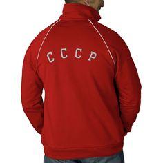 CCCP 80 Soviet Sports Jacket | Zazzle