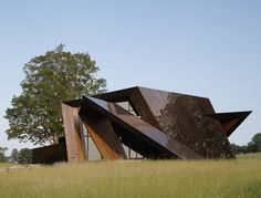 18.36.54 House, Connecticut, USA by Studio Daniel Libeskind.