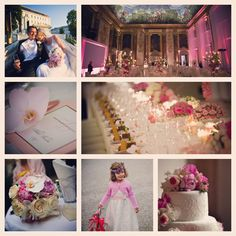 #pink #lila #rose #rosa #dekoration #hochzeit #salzburg #palais #schloss #wedding #castle Wedding Design and Organization by www.prime-moments.com