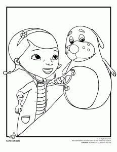 Doc McStuffins coloring pages | Doc McStuffins coloring pages ...
