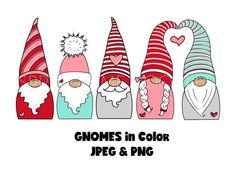 Christmas Gnome, Diy Christmas Gifts, Xmas Cards, Diy Cards, Gnome Paint, Girl Gnome, Valentines Day Clipart, Apothecaries, Christmas Drawing