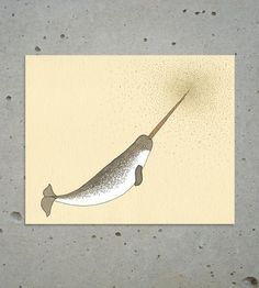 Narwhal Magic Print by Sadly Harmless on Scoutmob Shoppe