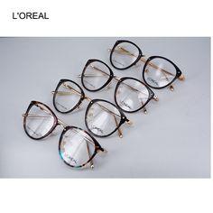 Designer Eye Glasses Frame for Woman Black Drop Eyeglasses for Girl Vintage Optical Frame for sale Women's Big Frame Discount free shipping