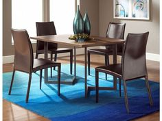 "Conal 48"" Dining Table with Glide Chairs 