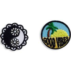 These little #sticker #patches let you customize your #bag #sneakers and #phone cases. #yinyang #goodvibes