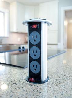 Unique Pop Up Electrical Outlets For Kitchen Islands