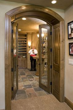 I would like to have the wine cellar look for my food storage room