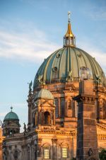 The Berliner Dom in the evening light - My Destination