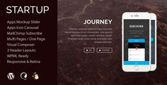 Startup is a Premium WordPress Theme for App related websites. It has elegant & clean design and comes with lots of unique features like app mockup slider and app icon carousel. Also come with WPML plugin support, custom widgets, various templates, well designed theme options & meta-box, MailChimp subscribe form integrated and much more …