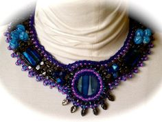 Shades of Purple by Rebecca Snowden on Etsy