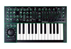Roland System-1 AIRA Variable Synthesizer Keyboard: Get ready for astonishingly real analog modeling! Don't lug a laptop to the gig -- you can host software models of classic Roland synths right on a System-1.