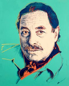 Tennessee Williams by Andy Warhol