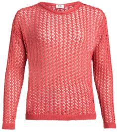 Veel pullovers, deze is heel mooi uitgevoerd! #Pullover #Koraal #Kleur