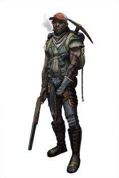 Post-apocalypse Warrior by JoeSlucher on DeviantArt