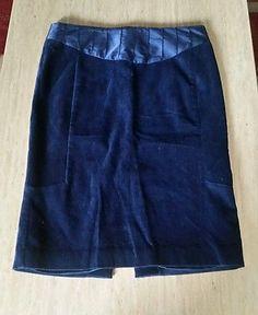 Club Monaco Pencil Skirt , Size 6 royal blue