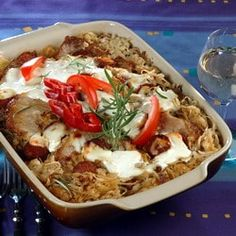 Magyaros káposztatál -- Mindmegette.hu Soup, Dishes, Chicken, Meat, Bulgur, Tablewares, Soups, Dish, Signs